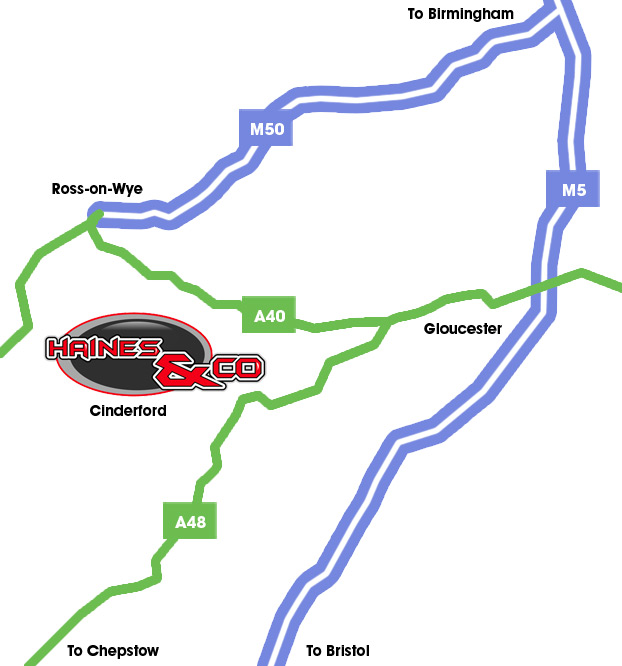 Haines, Cinderford (map)